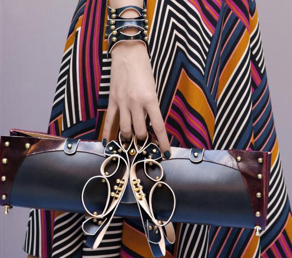Accessery bag by Una Burke