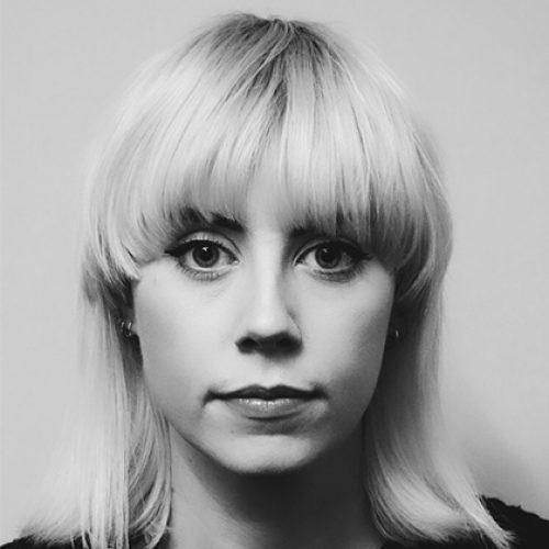 Black and white portrait of Eleanor Scott