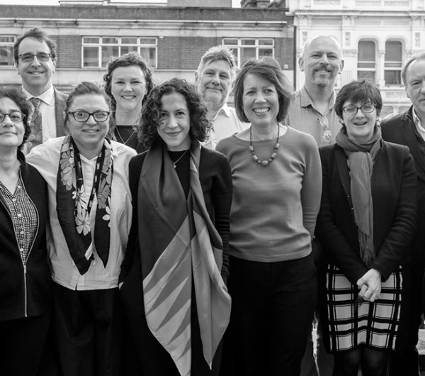 The Business of Fashion, Textiles and Technology team is shown in black and white image