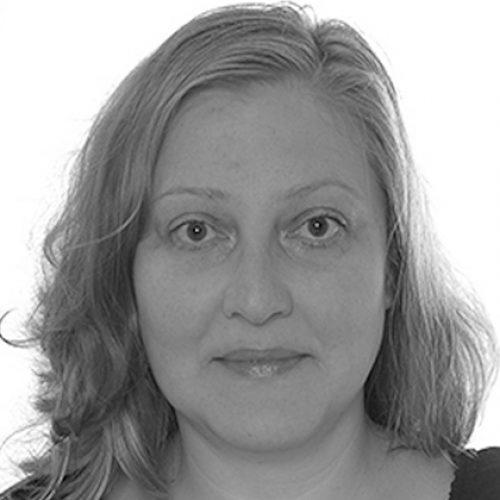 black and white portrait of Doroteya Vladimirova
