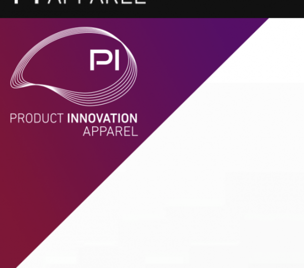 A poster with Product Innovation Apparel logo
