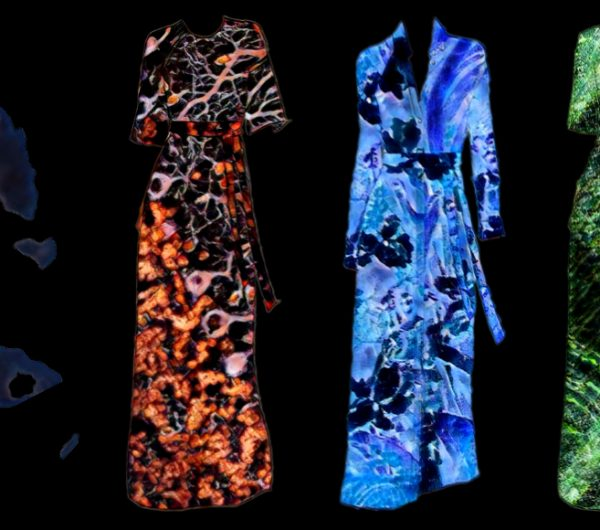 Four dresses from the AWAYTOMARS project